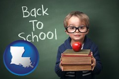 louisiana the back-to-school concept