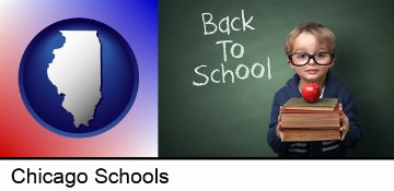 the back-to-school concept in Chicago, IL