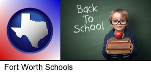 Fort Worth, Texas - the back-to-school concept