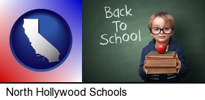 North Hollywood, California - the back-to-school concept