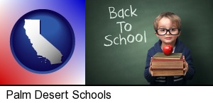 Palm Desert, California - the back-to-school concept
