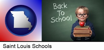 the back-to-school concept in Saint Louis, MO