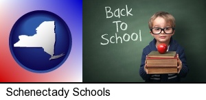 Schenectady, New York - the back-to-school concept