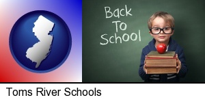 Toms River, New Jersey - the back-to-school concept